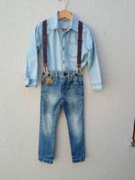 Título do anúncio: Jeans menino Tam 4