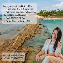 Título do anúncio:  Primeiro condomínio Temático á beira-mar de Muro Alto.