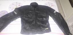 Jaqueta de couro importada da Bélgica
