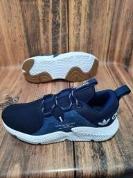 Tênis Adidas Off White Blue