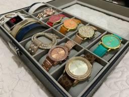 Relógios femininos conjunto coleção
