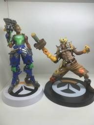 Vendo bonecos do Overwatch - Junkrat e Lúcio - os 2 por 370