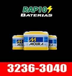 Título do anúncio: Bateria Moura, Heliar, Strada, Zetta 60ah com Garantia