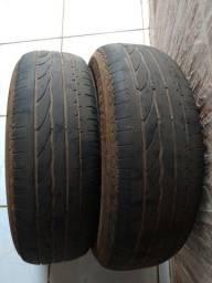 Pneu R15 195/55 Bridgestone Turanza Usado