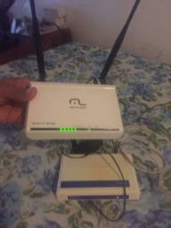 Vendo 2 roteadores wireless  300mbps com 4 e 6 portas