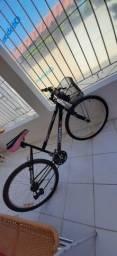 Bicicleta Aro 26 /de Marchas Feminino com Cesta<br><br>
