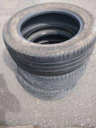 Título do anúncio: 3 pneus para caminhonete SUV 225/60 R17 Pirelli Scorpion Verde
