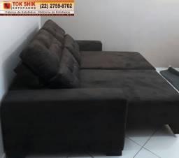 Sofá retrátil e reclinável sf45 direto da fábrica