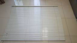Persiana horizontal aluminio branca