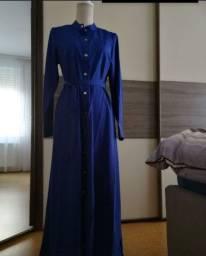 Vestido longo de manga M novo