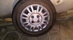 Jogo de rodas de ferro aro 13 FIAT