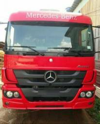 Mb Mercedes-Benz atego 2426 vermelho completo 2° dono 2014 - 2014