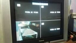 Sistema de vigilância pra 4 câmeras