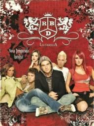 Série Rebelde = Rbd = La Familia = Box com luva e 3 Mídias