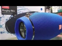 Caixa De Som Bluetooth Rugby R6+