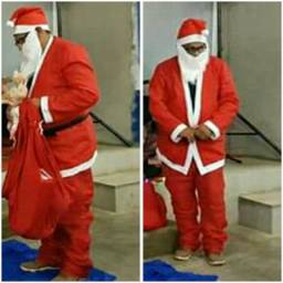 Vendo Fantasia de Papai Noel