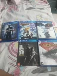5 jogos ps4