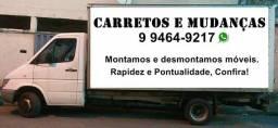 Carretos zzap 994649217 mudanças disponível