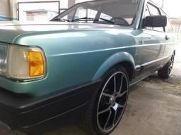 Vw - Volkswagen Gol gl 1.8 com 69.000 km manual chave fazer original carro muito bem conse - 1991