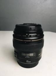 Lente Canon 85mm f/ 1.8 USM