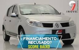 Sandero Score Baixo Pequena Entrada - 2012