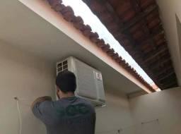 Instalação de ar condicionado!!!
