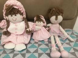Vendo bonecas de pano