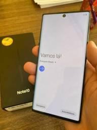 Samsung note 10 256g - semi novo(estudo trocas)