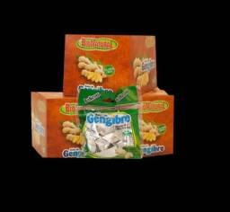 Bala de Gengibre Natural com propolis e Limão c/ 10 embalagem 38 g cada