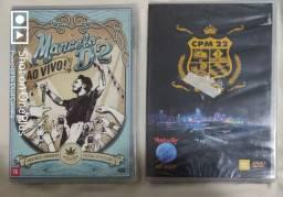 Dvds Marcelo D2 e CPM 22