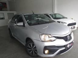 Etios sedan 1.5 platinum automático 2018 o mais Novo de Sergipe - 2018