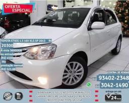 Toyota branco etios 1.5 16v 5p 2013 R$20398 36098km - 2013