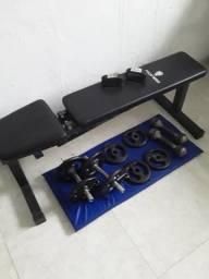 Kit para musculação ( Comprador precisa buscar)
