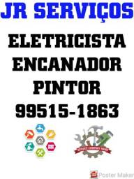 Eletricista 24h, bombeiro hidráulico, pintor, gás encanado, conversão de fogões