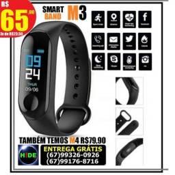 Pulseira Relógio Smart Band M3 (entrega grátis)