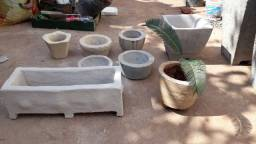 Vasos e plantas