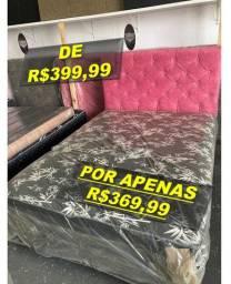Cama Box com Colchoa Acoplado - Entrego