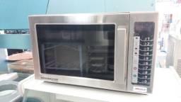 Microondas comercial 36 litros menumaster 1000w (novo) Alecs