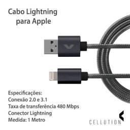 Cabo para iphone 5,6,7,X e 11/ 2 Metros Com Garantia