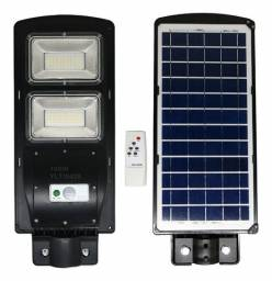 Refletor Solar Poste 100w Sensor Forte - Nao consome Energia da CEA