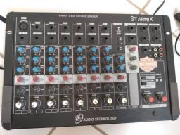 Mesa de Som Starmix USFX802R