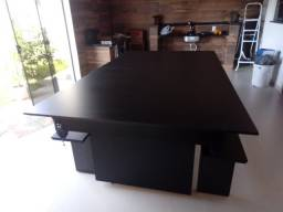 Mesa de Bilhar Encanto Preta Tx Personalizada Modelo KFK5421
