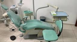 Cadeira e rx odontologico