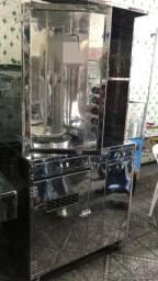 Maquina de churrasco grego 50 kg carne grega