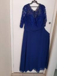 Lindo vestido de festa sem uso.
