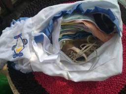 Lote de roupas para bb conservadas