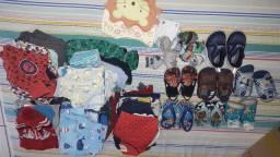 Roupas e calçados menino de 1 a 2 anos