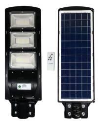 Refletor Solar Poste 150w Sensor Forte - Nao consome Energia da CEA