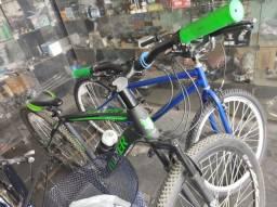 Bicicleta com freio hidráulico - divido no cartão