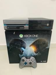 Xbox one edição limitada 1tb de memória acompanhado de 10 jogos